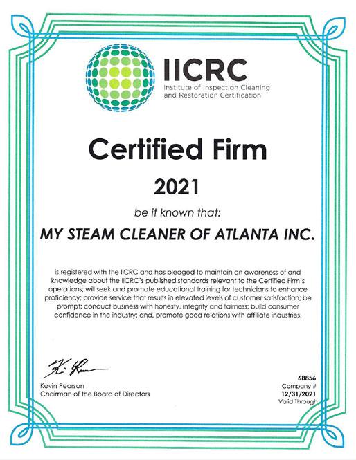 IICRC 2021